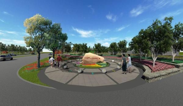 大、小龙河景观规划项目
