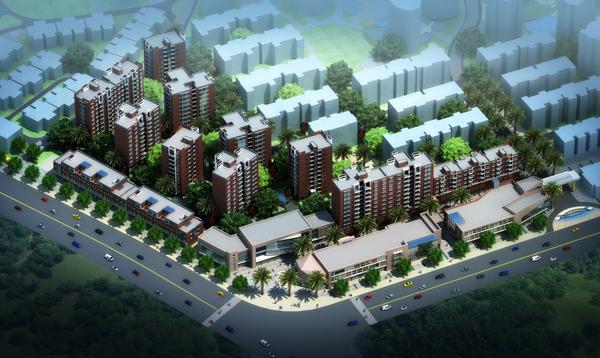 云南砚山天润龙湖城三期景观设计项目